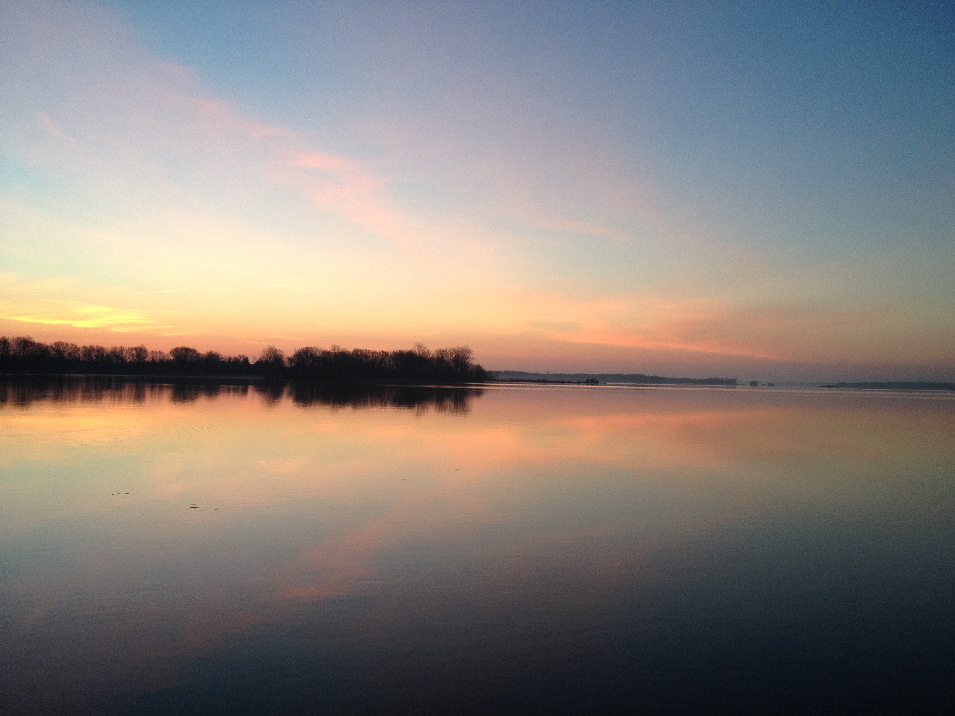 Sunrise over the Bay of Quinte